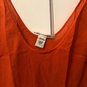 Diane von Furstenberg 100% silk tank
